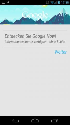 Google Now soll ein persönlicher, elektronischer Assistent werden.