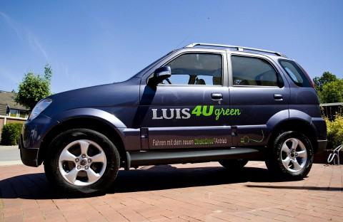 Das elektrische SUV Luis 4u green (Foto: Luis)