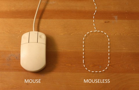 Mouseless - Bilderkennung ersetzt die Maus (Bild: Pranav Mistry)