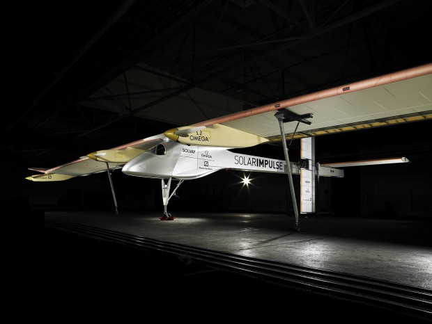 Solar Impulse HB-SIA soll 24 Stunden über der Schweiz kreisen. (Foto: Solar Impulse)