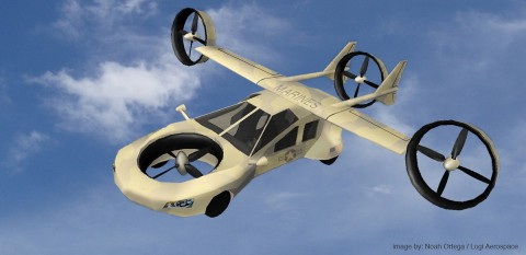 Tyrannos ist ein flugfähiges Auto, ... (Bild: Logi Aerospace)