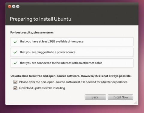 im Willkommensbildschirm des neuen Installers kann auch die Installation zusätzlicher Software festgelegt werden.