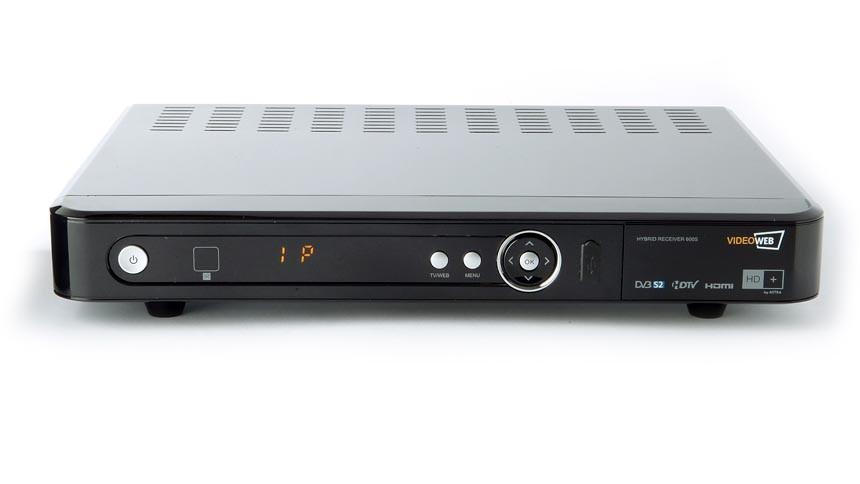 Videoweb 600S: HDTV-Sat-Receiver mit Onlineanbindung lieferbar - Videoweb 600S - HDTV-Sat-Receiver mit Internetanbindung