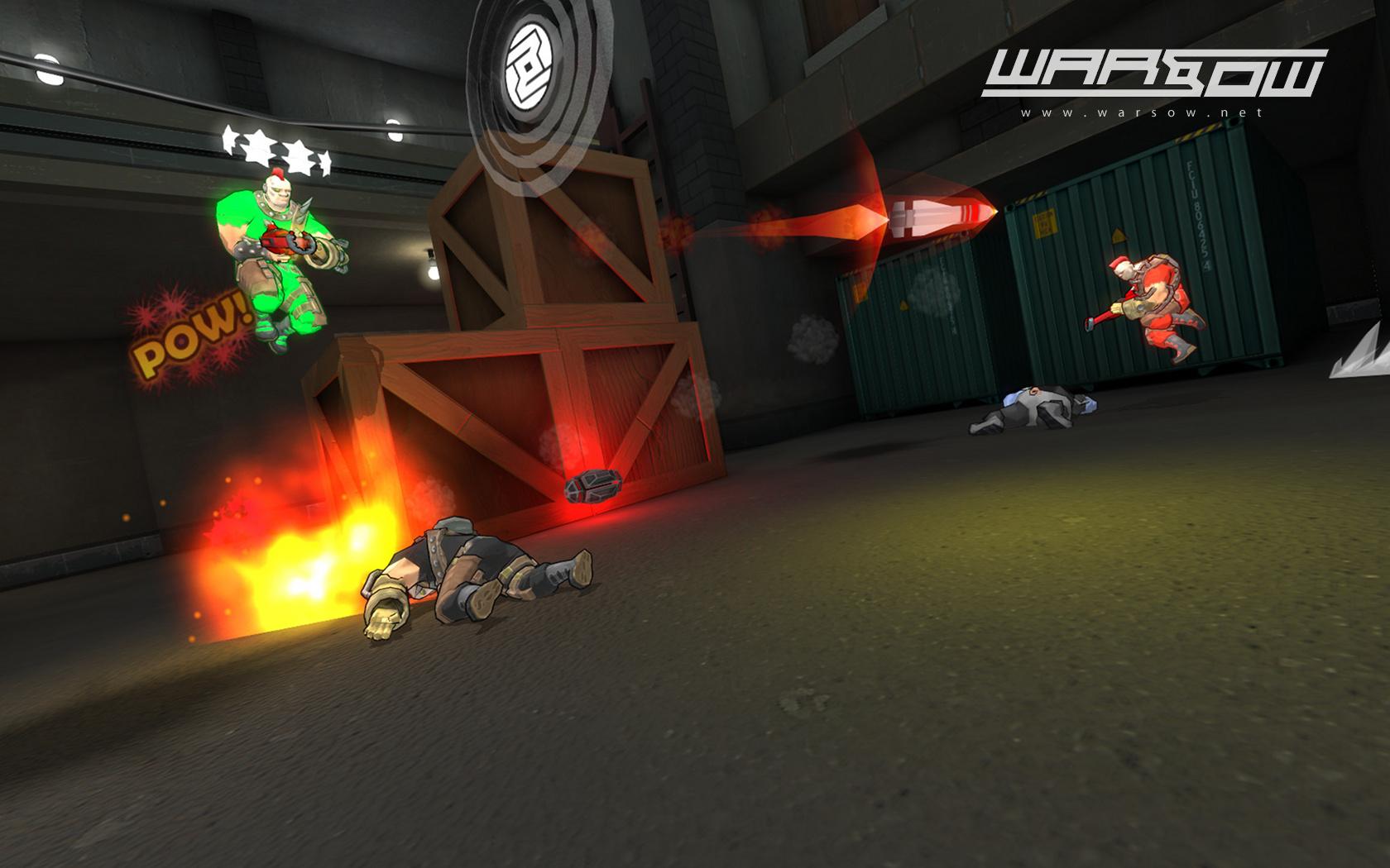 Egoshooter: Warsow 1.0 beendet siebenjährige Betaphase - Der Ego-Shooter Warsow