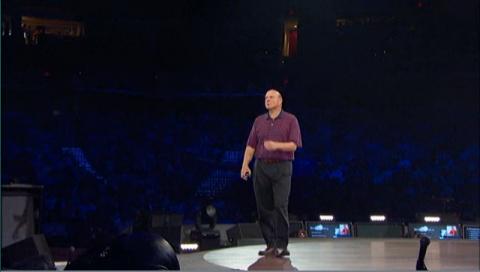 Steve Ballmer schwört Microsofts Partner auf Cloud Computing ein.