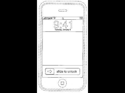 Bildschirmsperre aus der Patentschrift
