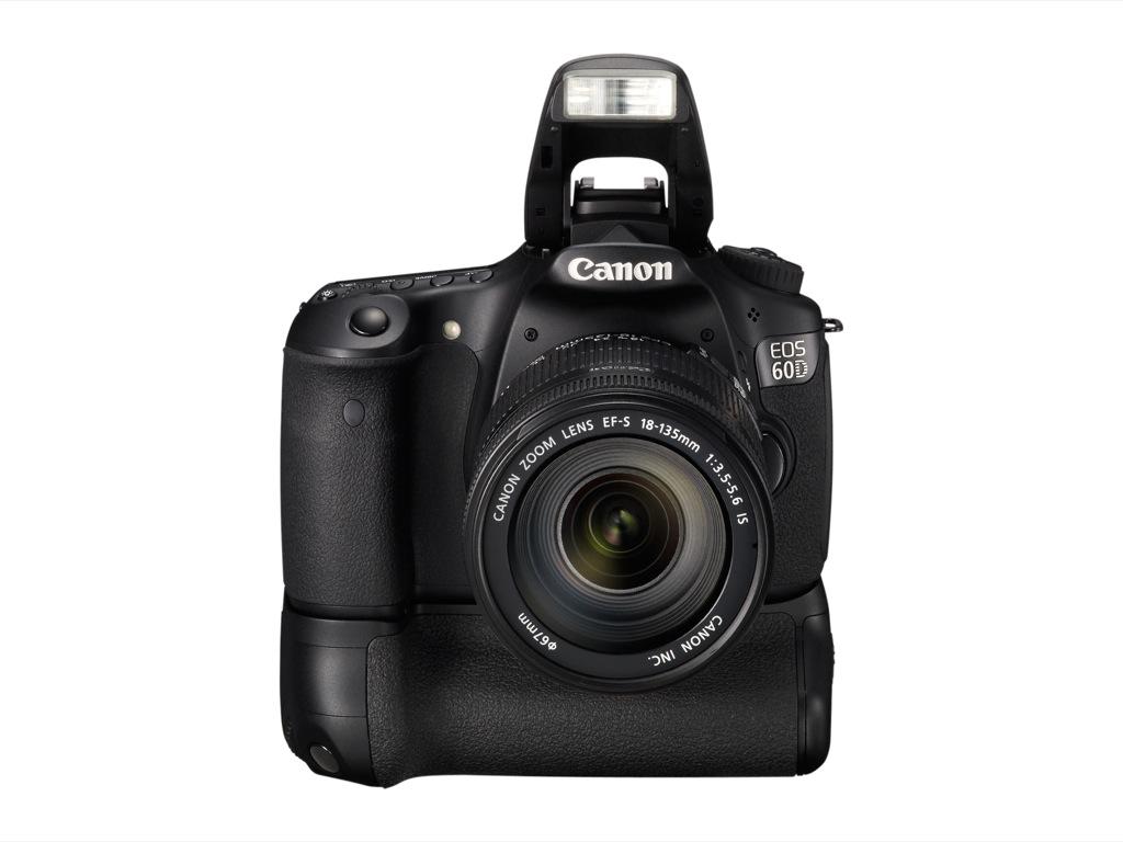 Canon: EOS 60D mit Schwenkdisplay und Full-HD-Videoaufzeichnung - Canon EOS 60D mit Batteriegriff BG-E9