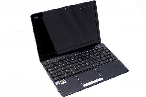Aufgeklappter Eee PC 1215N