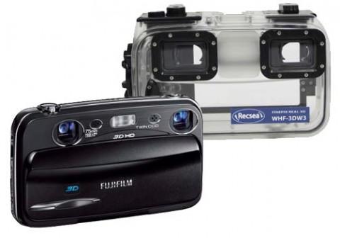 Fantasea Recsea WHF-3D W3 und  Fujifilm Real 3D W3