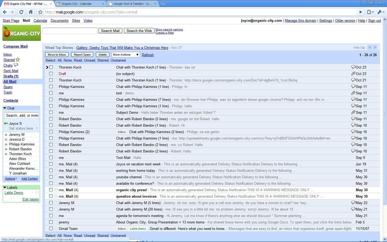 Priority Inbox: Google weiß, welche E-Mails wichtig sind - Google Mail: Priority Inbox