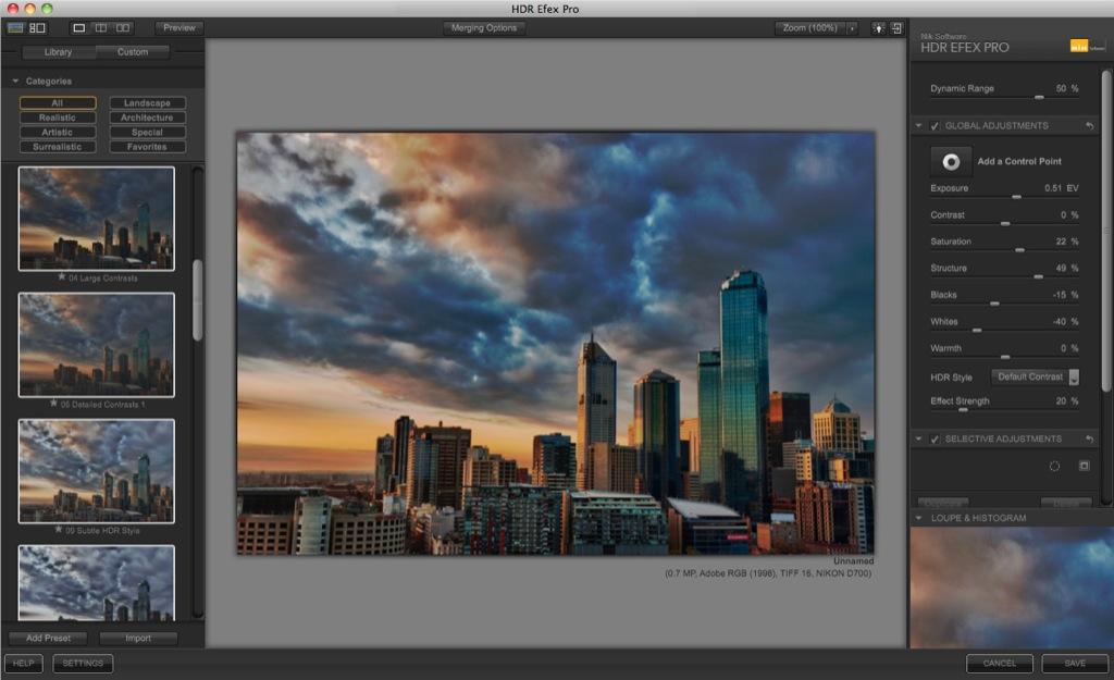 Nik Software: HDR-Fotobearbeitung ohne Maskierungen - Nik Software HDR Efex Pro