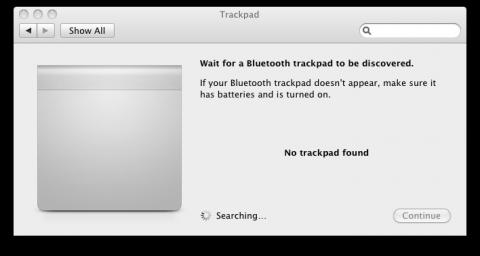 Trackpad-Erkennung