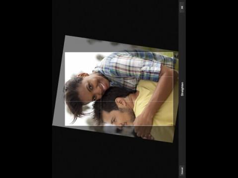 Adobe Photoshop Express auf dem iPad