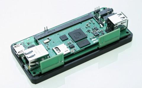 Baseboard mit HDMI (hinten links)