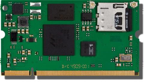 Das Modul mit SO-DIMM-Port