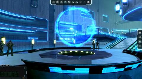 Black Prophecy - Blick in eine Raumstation (Screenshot: Gamigo/Reakktor)