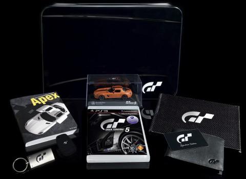 Die GT5-Signature-Edition im Überblick