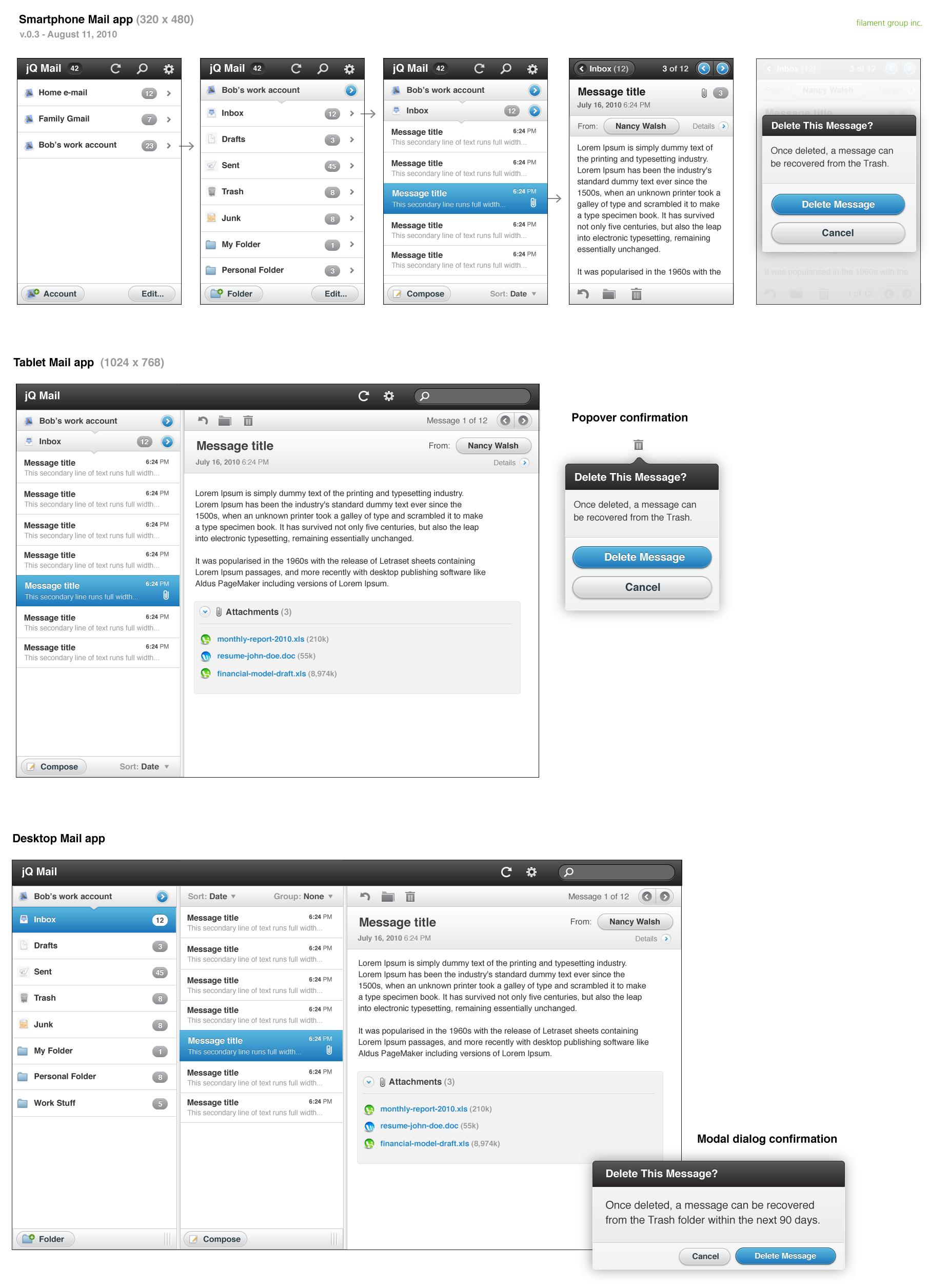 Javascript: Dritte Alpha von jQuery Mobile - UI-Komponenten von jQuery Mobile (Stand August 2010)