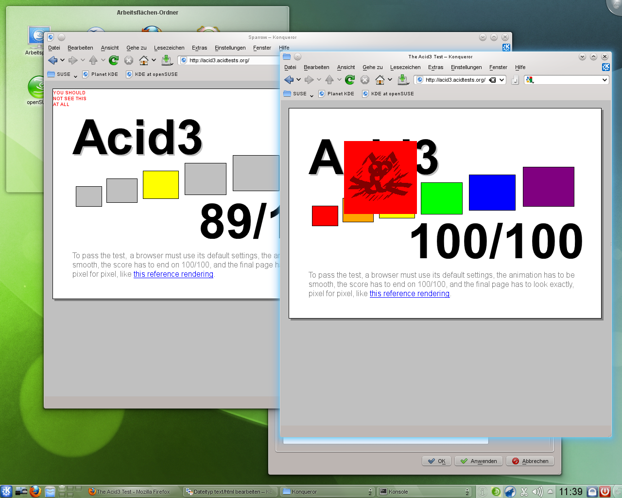 KDE SC 4.5: Neue KWin-Effekte und verbessertes Benachrichtigungsfeld -