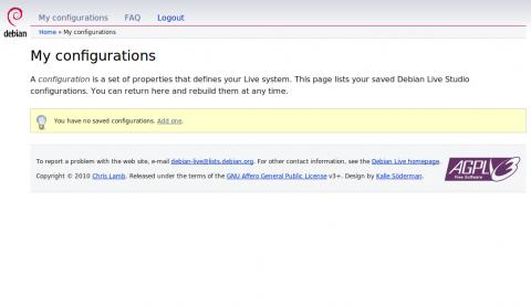 Debian-Live-Studio