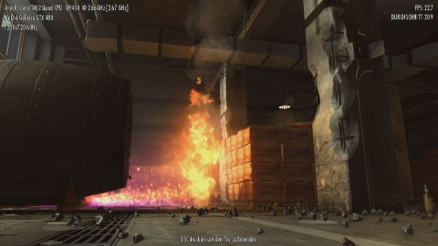 Mafia 2 Benchmark - PhysX: hoch