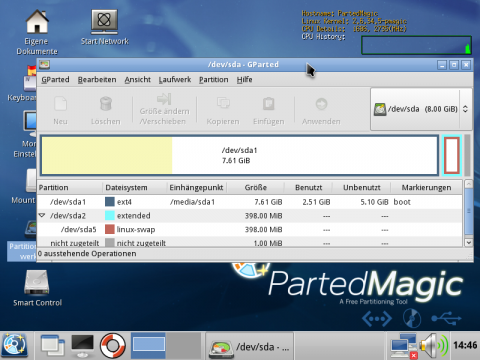 Parted Magic 5.3