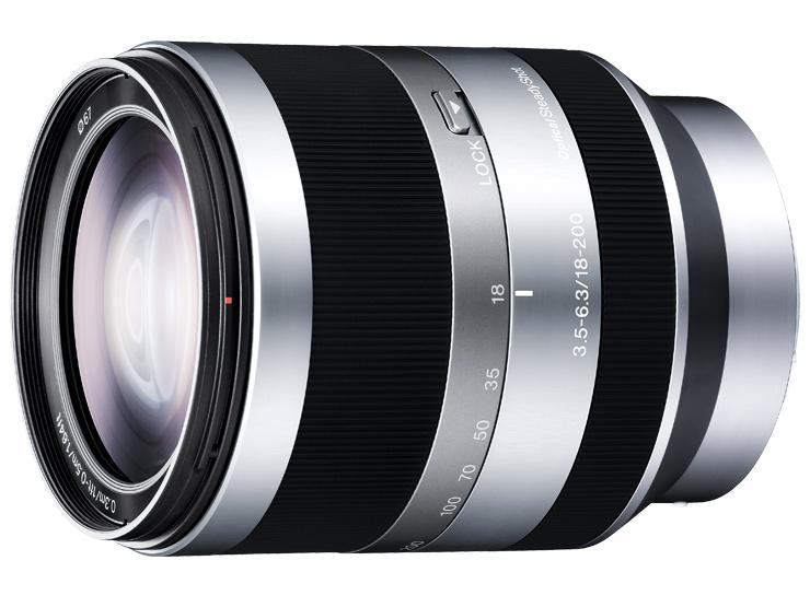 Sony: Immerdrauf-Objektiv für NEX-Kameras - Sony E18-200mm F3.5-6.3 OSS