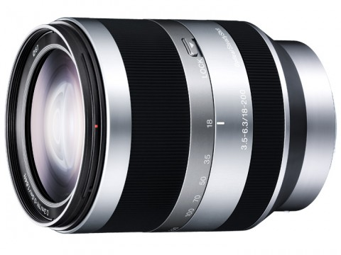 Sony E18-200mm F3.5-6.3 OSS