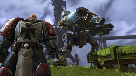 Warhammer 40K Dark Millennium Online (Konzeptbild: THQ)