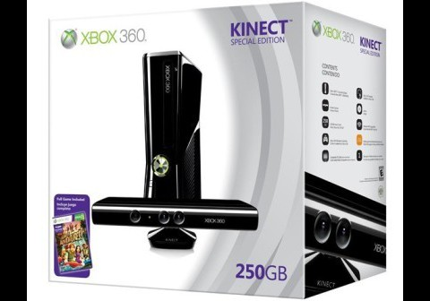 Special Edition Xbox 360 250GB with Kinect