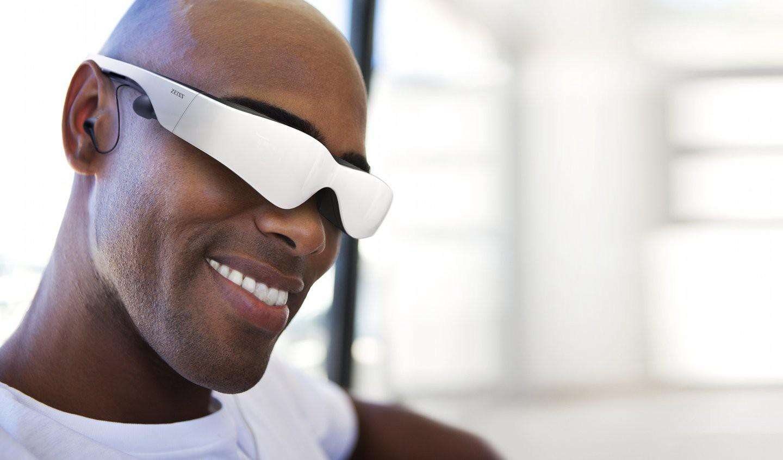 Cinemizer OLED: Videobrillenprototyp in Aktion - inklusive Headtracking - Cinemizer OLED von Zeiss
