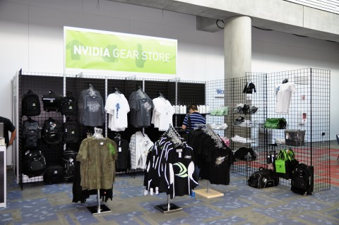 Traum jedes Fanboys: der Nvidia-Shop mit T-Shirts ab 23 US-Dollar