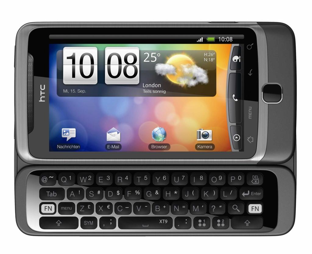 Android-Smartphone mit Tastatur: T-Mobiles G2 heißt bei HTC Desire Z (Update) - HTC Desire Z