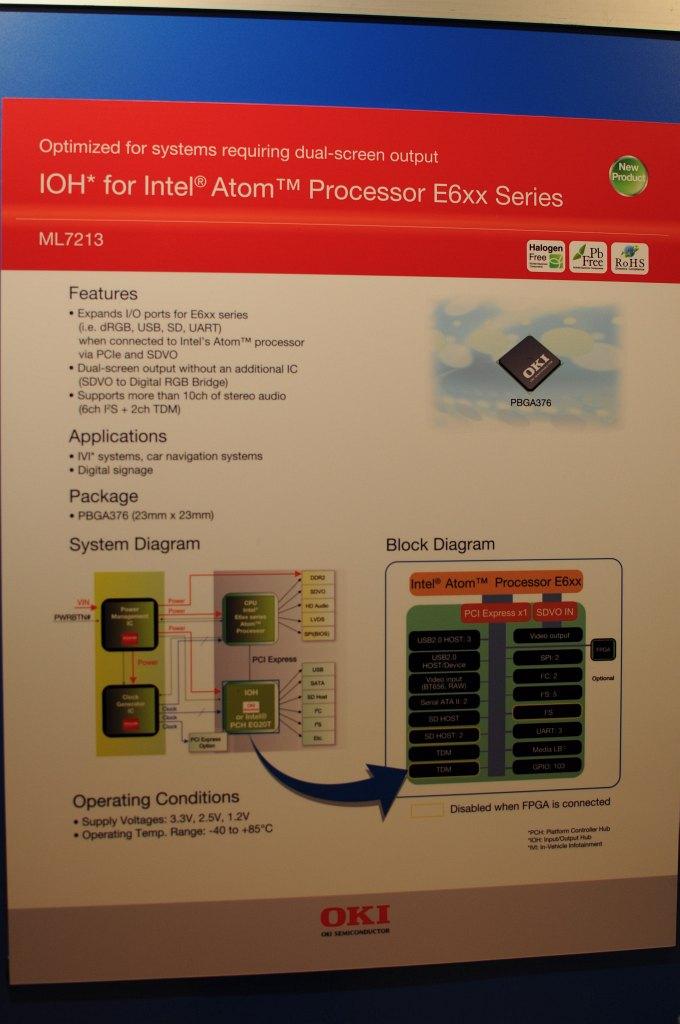 Atom E6xx: Autos mit Atom-Antrieb - Oki und Rohm
