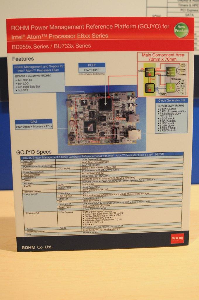 Atom E6xx: Autos mit Atom-Antrieb - Technische Daten des Gojyo-Systems