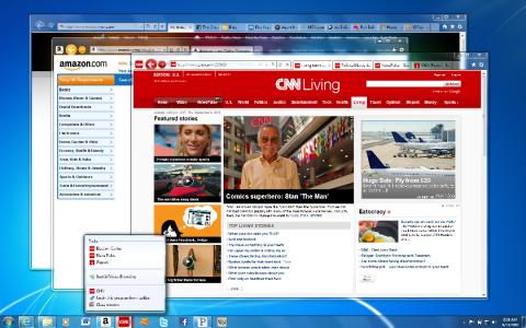 Internet Explorer 9 im neuen Outfit