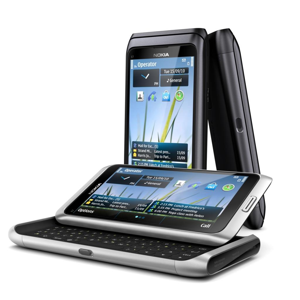 Nokia E7: Communicator-Nachfolger ist da - Nokia E7