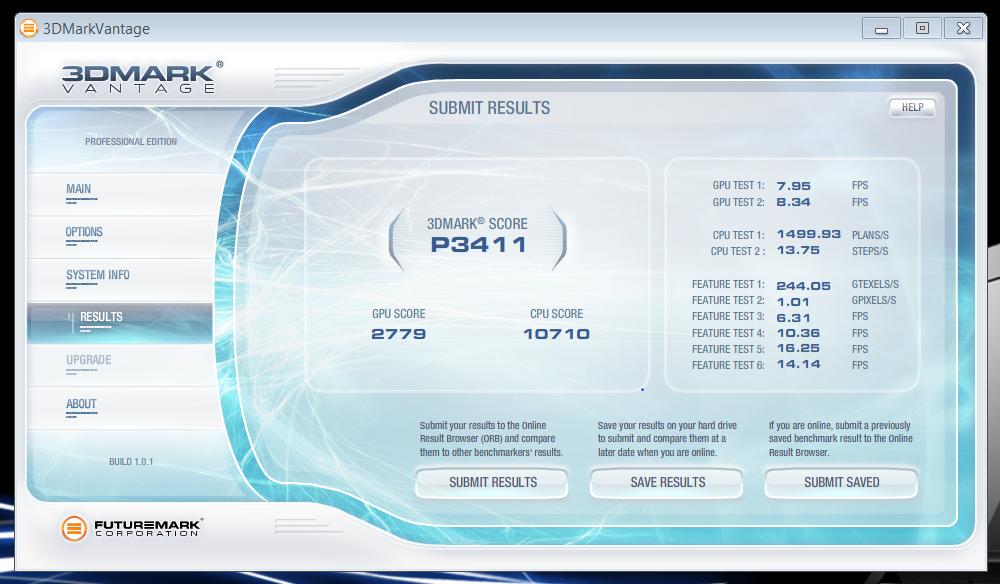 Mobiler Fermi: Sieben GPUs für Notebooks mit DirectX-11 von Nvidia - Ergebnis des GT 425M auf Asus N73