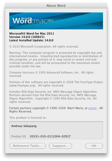 Office 2011: Mac-Version mit Outlook, aber ohne Opendocument - Office for Mac 2011