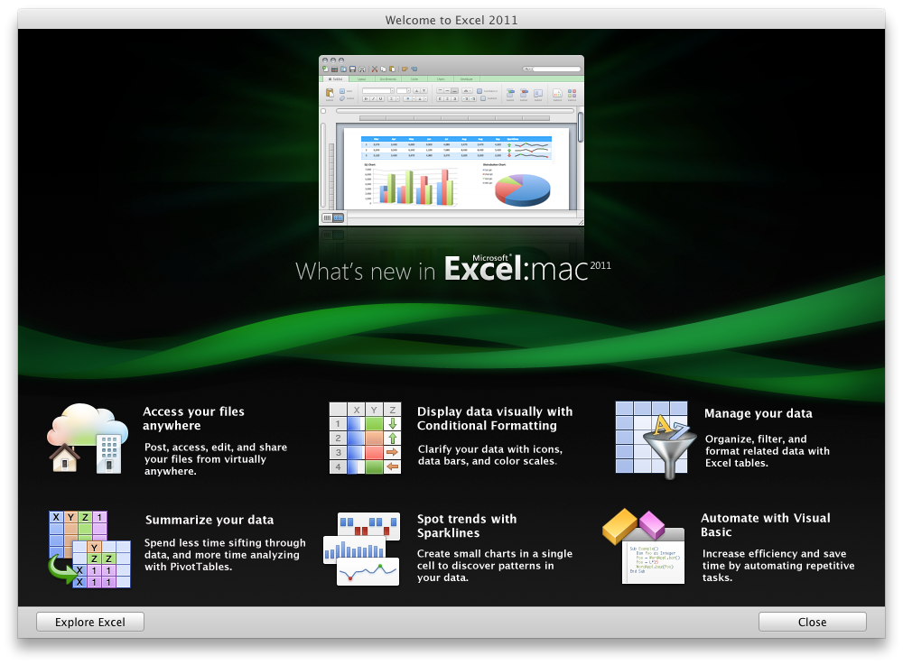 Office 2011: Mac-Version mit Outlook, aber ohne Opendocument - Excel 2011