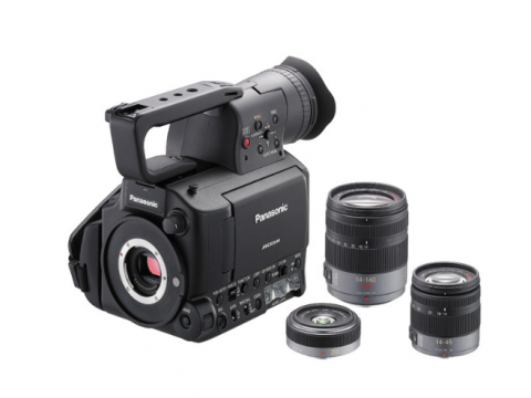 Micro-Four-Thirds-Camcorder Panasonic AG-AF101