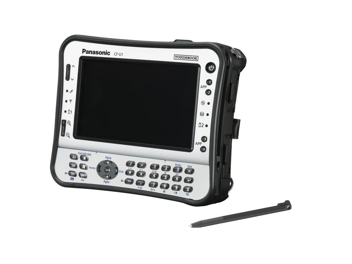 Robust und lüfterlos: Panasonics Minirechner Toughbook CF-U1 mit 380 cd/qm - Toughbook CF-U1