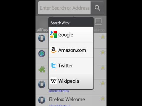 Prefox für WebOS