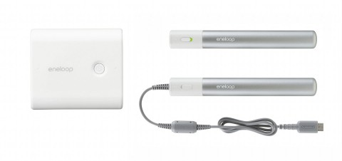 Eneloop Mobile Booster (links) und Enelopp Stick Booster (rechts)
