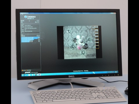 Cinebench R11.5 auf Core i7 2600K