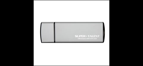 USB 3.0 Express RAM Cache drive von Super Talent