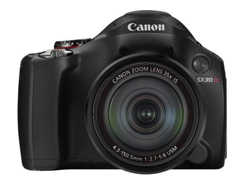Die neue Canon Powershot SX30 IS (Foto: Canon)