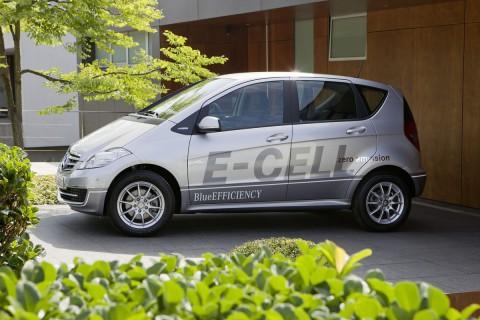 Der neue E-Cell basiert auf der A-Klasse. (Foto: Daimler)