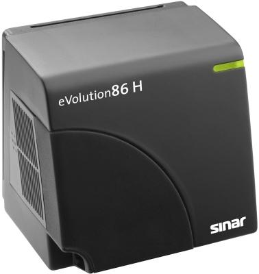 Sinar: Digitales Rückteil bewegt Sensor pixelweise - Sinar Evolution86 H