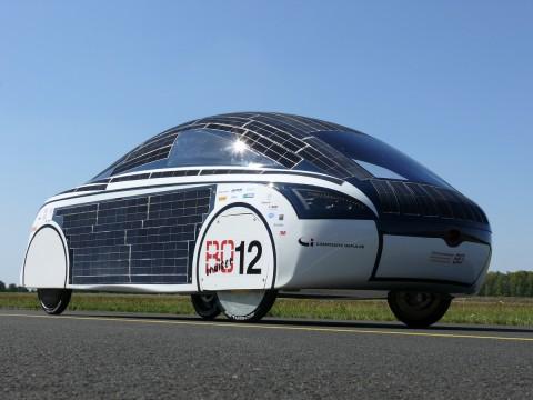 BOcruiser, das Solarauto der Hochschule Bochum (Foto: HS Bochum)